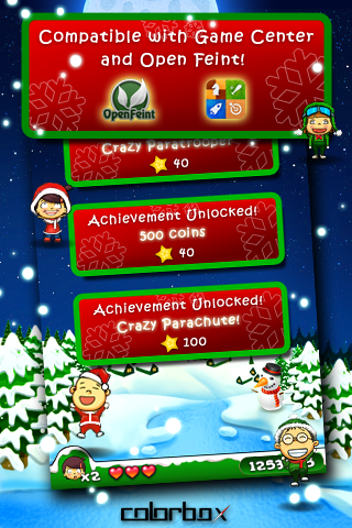 Screenshot Crazy Parachute X'mas Edition