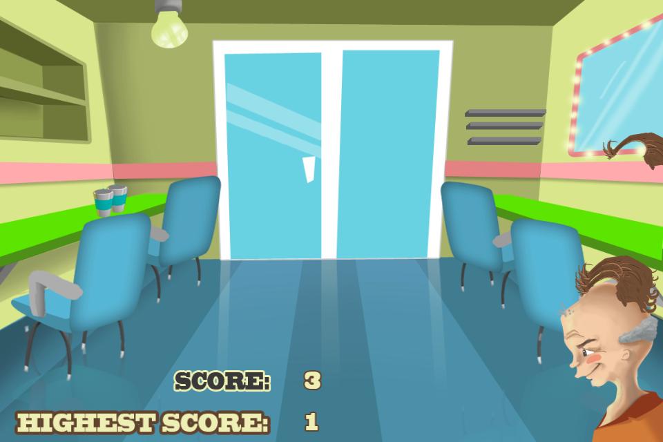 Screenshot iHaircut Express Game HD Lite